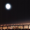Coronado Bridge w/Moon